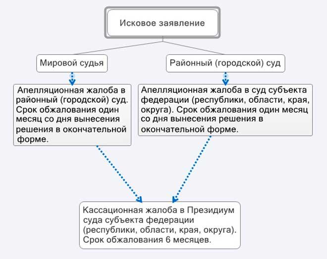 Изображение - Апелляционная жалоба в гражданском делопроизводстве – сроки подачи и порядок оформления 7